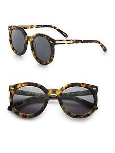 { Super Duper Strength Round Sunglasses in Tortoise }