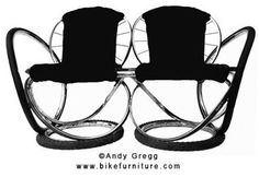 Furniture made from old bicycles. By Cory Doctorow at 5:49 pm Thursday, ...  boingboing.net