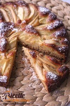 Torta integrale Mele&Miele Senza burro. Senza zucchero
