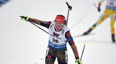 Französische Biathlonparty in Oslo: Laura Dahlmeier ergattert WM-Bronze