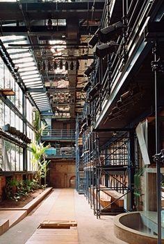 Teatro Oficina, vista interna do acesso para os balcões / Foto Nelson Kon
