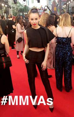 Sofia Carson at the iHeartRadio Much Music Video Awards!