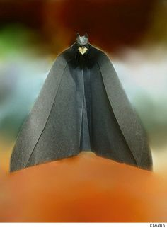 The Dark Knight Folds: Batman Origami -click through to see more...