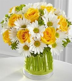 Simple White and Yellow. Love.