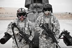 painted face masks scary US air force pilot - Google Search