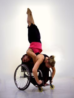 Integrative Dance / For dancers with and without disabilities. I want to learn more about this but it is hard to find where.