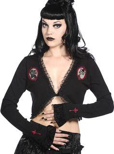 Bolero Rockabilly Gothique Banned