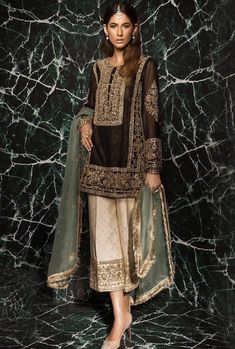 For order or any other queries regarding the dress DM us .Shipping Worldwide is available .For contect WhatsApp us on 03088009670 Pakistani Wedding Outfits, Pakistani Dresses, Indian Dresses, Indian Outfits, Bridal Outfits, Pakistani Couture, Pakistani Dress Design, Ethnic Fashion, Indian Fashion