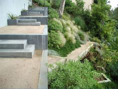 cool stairs/retaining walls by elysian landscapes