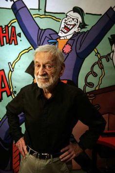Jerry Robinson- the creator of the Joker. 1922-2011