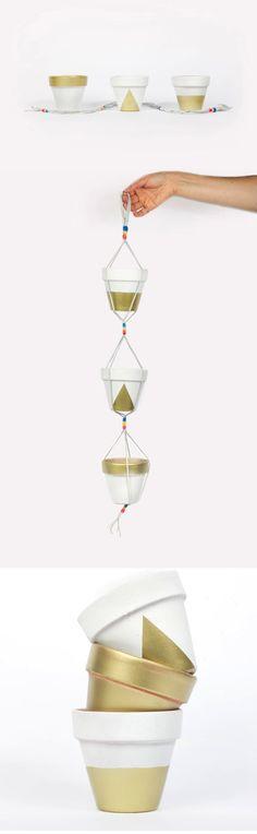 DIY hanging planter kit