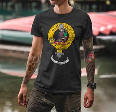 Wear your crest with pride when you are the owner of this crisp t-shirt featuring...