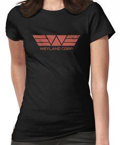 Weyland Corp - Distressed Red Women's T-Shirt