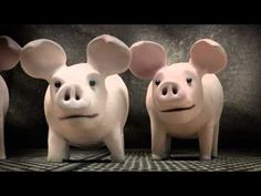 A Pig's Tail - The HSUS has teamed up with award-winning Aardman Studios to create this short animated children's film about factory farming.