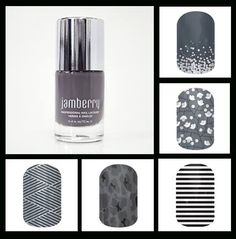 Jamberry Nail lacquer and wraps - best Christmas gift ever! www.carlyn.jamberrynails.net