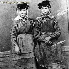Coal Mining, Women Coal Miners, South Wales, Date: 1890