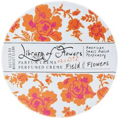 Library of Flowers Field & Flowers Parfum Crema ($22) ❤ liked on Polyvore featuring beauty products, fragrance, beauty, makeup, fillers, perfume, decor, flower fragrance, parfum fragrance y orange blossom perfume