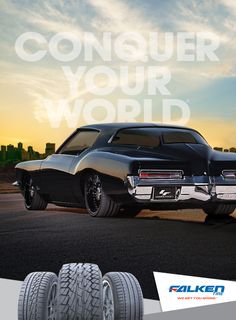 Falken Tire Rides Car Magazine Ad Conquer Your World