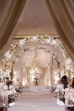 Beautiful aisle
