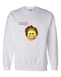 Luke Hemmings 5SOS Emoji Crewneck Sweatshirt