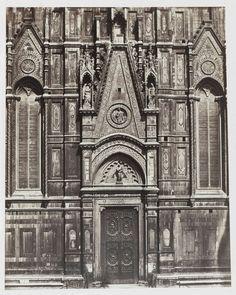 Fratelli Alinari   Firenze. 1e Porta Meridionale del Duomo, Fratelli Alinari, 1854 - 1855  