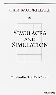 SIMULACRA AND SIMULATION DEUTSCH EPUB DOWNLOAD