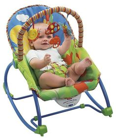 Fisher-Price Infant to Toddler Rocker Sleeper, Snails Activity Center, Toy, Gift #FisherPrice