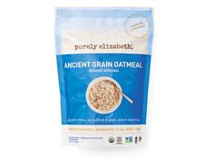 Purely Elizabeth Ancient Grain Oatmeal: Rare is the oatmeal with 460 mg of omega-3s. But Purely Elizabeth's packs quinoa flakes, chia, hemp and flax into the mix (and yes, it still tastes good, promise!) Stir in some peanut butter, top it with fruit, or use it to fluff up healthy pancakes.