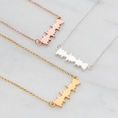 'I Love You' Secret Message Soundwave Necklace - gifts for her