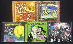 Less Than Jake CD/CDs Lot: B is for B-Sides + Anthem + Losing Streak + ++