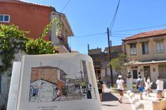Α Walk through Lefkada's old town - Fagotto Books Old Town, Maps, Greek, Industrial, Study, Construction, Building, Books, Character