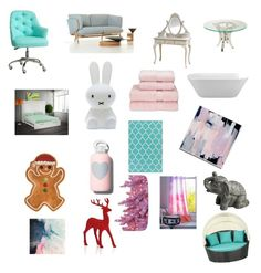"""Cutesie"" by juliecreativity ❤ liked on Polyvore featuring interior, interiors, interior design, home, home decor, interior decorating, DutchCrafters, Mr Maria, Fitz and Floyd and bkr"