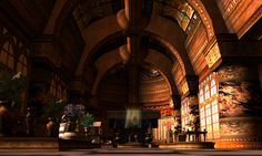 Where's Dim Sum? #163 - Roman great hall by Opal Lei, via Flickr