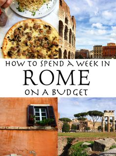 The ultimate guide to traveling to Rome for 1 week without breaking your wallet! What to do, what to see, how to eat gluten free and more!