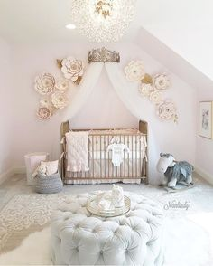 21 Scandinavian Nursery Designs that may have you ever pronouncing 21 skandinavische Kinderzimmer-Designs, die Sie sagen lassen – Kinderzimmer Design Studio Baby (Visited 1 times, 1 visits today) Flower Nursery, Baby Nursery Decor, Baby Bedroom, Baby Decor, Baby Nursery Ideas For Girl, Baby Girl Rooms, Ikea Nursery, Baby Girl Room Decor, Kids Decor
