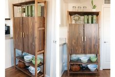 Are your closets overflowing? Hide your stuff beautifully with one of these stylish IKEA IVAR storage hacks. Ikea Ivar Shelves, Ivar Ikea Hack, Ikea Ivar Cabinet, Armoire Ikea, Ikea Storage, Storage Hacks, Storage Ideas, Corner Storage, Storage Cart