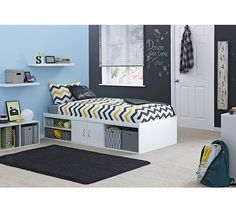 Buy Declan Single Cabin Bed with Storage - White at Argos.co.uk - Your Online Shop for Children's beds, Beds, Home and garden.