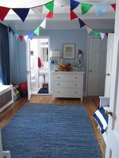 Fun playful room with lots of color and on a budget!
