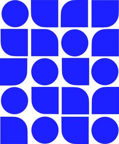 "Blues""s (or red's, green's or yellow's) (tiles), 2015 Ligia de Medeiros"