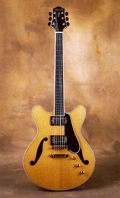 ob Fender Eric Johnson Thinline Stratocaster Semi-hollow Guitar Vintage White Harmonious Colors
