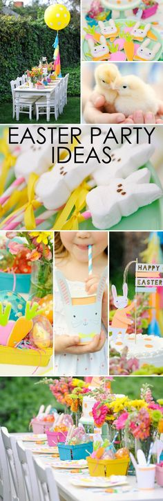 Easter Party Decor Ideas + 4 Steps to a fab Easter Party