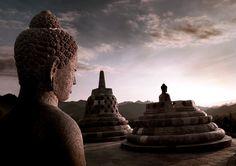 Borodubur- El #templo #budista más grande del Mundo
