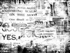 Newspaper Background Vintage Texture Free