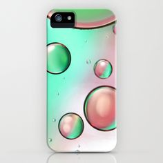 Watermelon Oil On Water iPhone Case