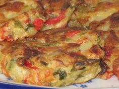 Oven-Baked Vegetable Fritters (gluten free, too) (Mr. Micawber's Recipe for Happiness)