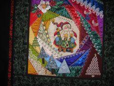 Santa's crazy quilt