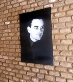 Portrait of Jan Kubiš in the lobby of his home. We Will Never Forget, Paratrooper, Wwii, Military, Hero, History, Portrait, Czech Republic, Hot Men