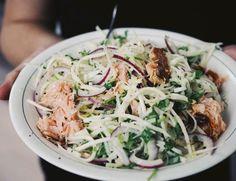 Savulohi–sellerisalaatti ja pari kesäistä roseeta | Suusta suuhun | Bloglovin' Deli, Cabbage, Vegetables, Food, Essen, Cabbages, Vegetable Recipes, Meals, Yemek
