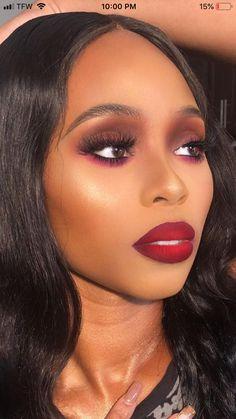 Vamp Makeup, Edgy Makeup, Flawless Makeup, Makeup Goals, Makeup Geek, Makeup Inspo, Makeup Tips, Beauty Makeup, Simple Makeup Looks