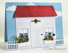 Poppystamps Madison House die card - bjl